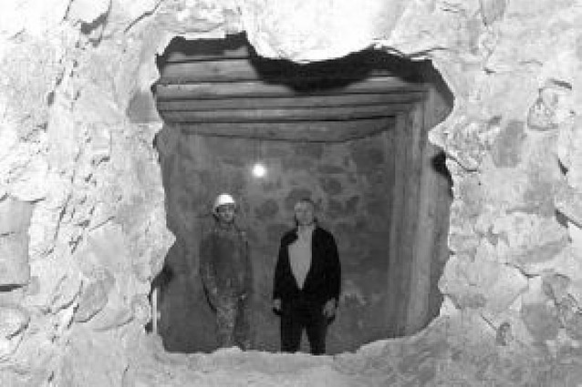Unas obras descubren el mal estado de las vigas de la basílica del Romero de Cascante