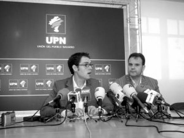 UPN plantea una moción de censura en Berriozar y pide a IU que se adhiera