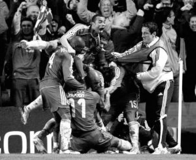 El Chelsea batió al Liverpool