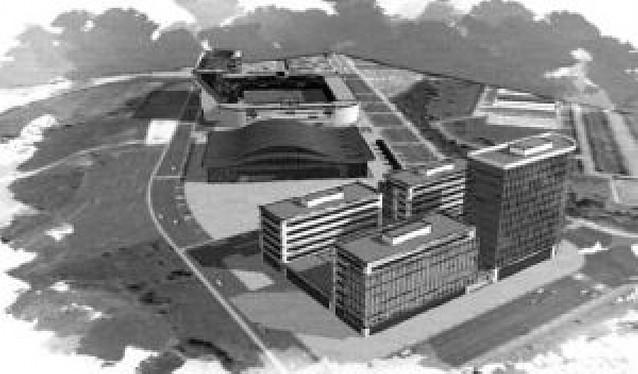 """El Gobierno quiere inaugurar en 2011 el pabellón """"Reyno de Navarra Arena"""""""