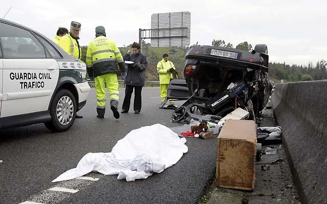 Seis muertos en las carreteras en el segundo día de la operación salida del puente del 1 de mayo