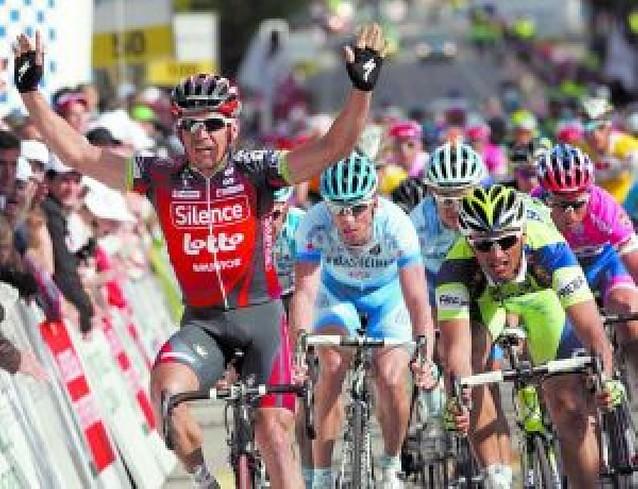 McEwen impone su velocidad en Romandía
