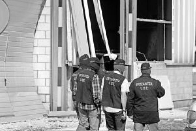 Las tres bombas de San Sebastián y Vizcaya sumaban once kilos de amonal