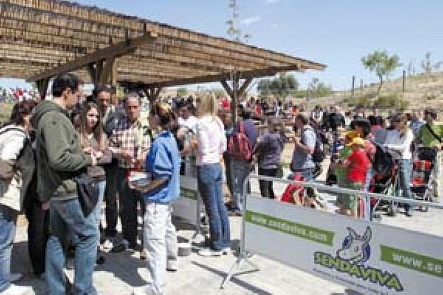 El parque Senda Viva, a tope de visitantes