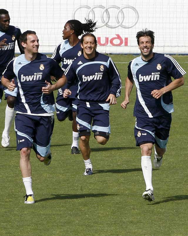 Metzelder y Sergio Ramos vuelven a entrenarse con el grupo