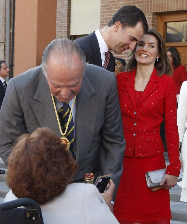 """Don Juan Carlos: """"El Dos de Mayo reflejó una toma de conciencia de la identidad nacional """""""