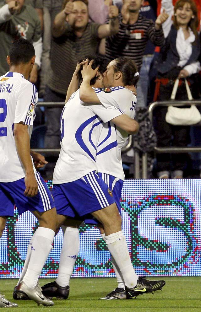 El Zaragoza logra un respiro en el último segundo (1-0)