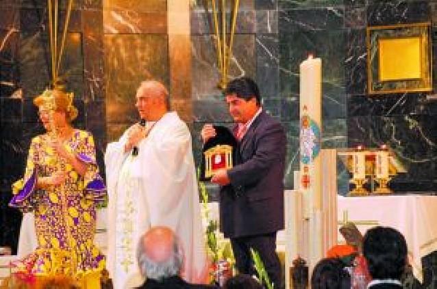 Relevo en la hermandad Nuestra Señora del Rocío en Navarra