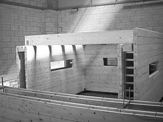 Una nueva técnica permite construir casas bioclimáticas unifamiliares de madera