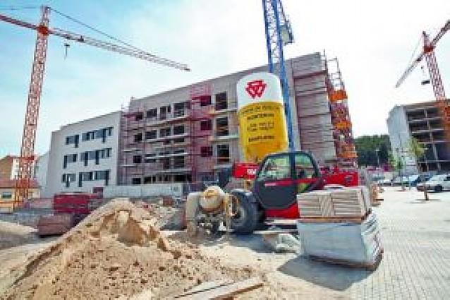 Tudela construye un 31% menos de viviendas en el primer cuatrimestre