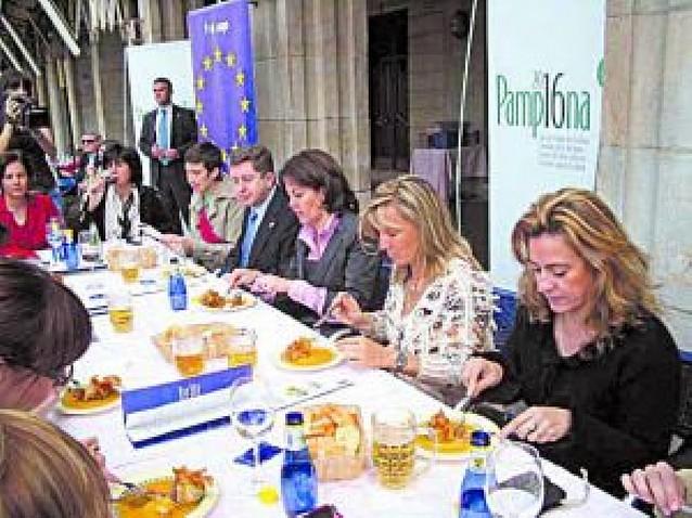 Pamplona sabe a Europa