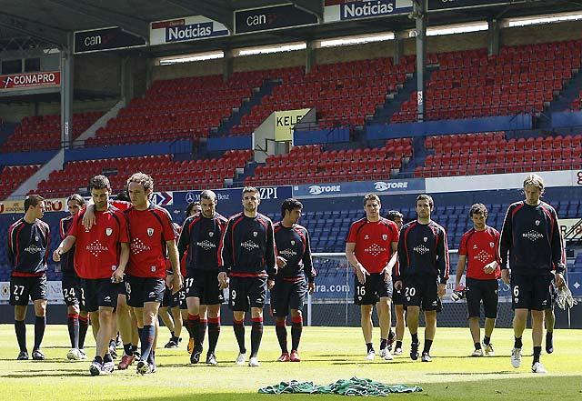 Osasuna, a retrasar el alirón del Real Madrid como acto de supervivencia