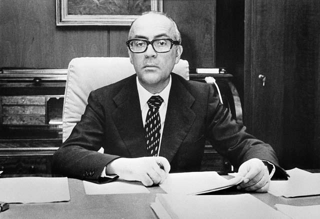 Ministro, organizador de la campaña de UCD, presidente y europarlamentario