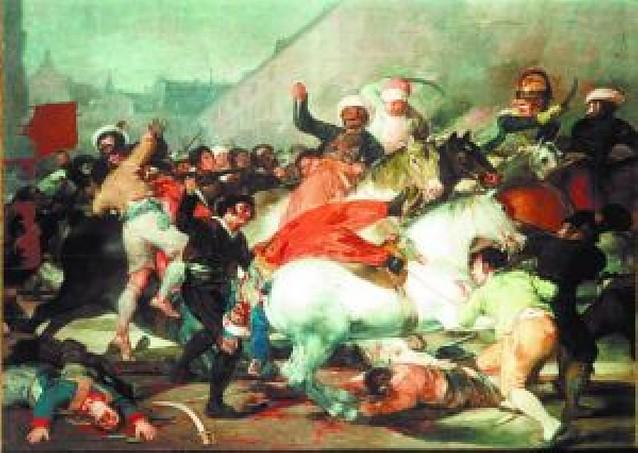 Qué pintaban los mamelucos el 2 de mayo