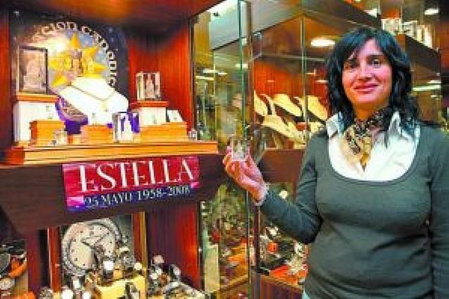 La Virgen del Puy, en cristal y chocolate