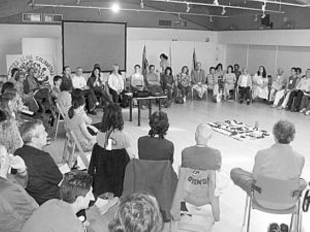 """Estella reúne a 86 personas en el encuentro """"Tierra, alma y solidaridad"""""""