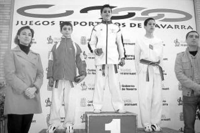 La escuela de Castejón suma tres medallas en los Juegos Deportivos