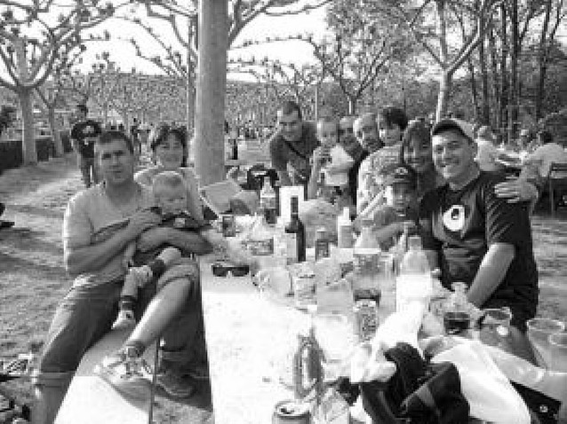 La empanada protagoniza la tradicional fiesta del Barranco