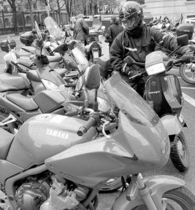 Dónde aparcar la moto
