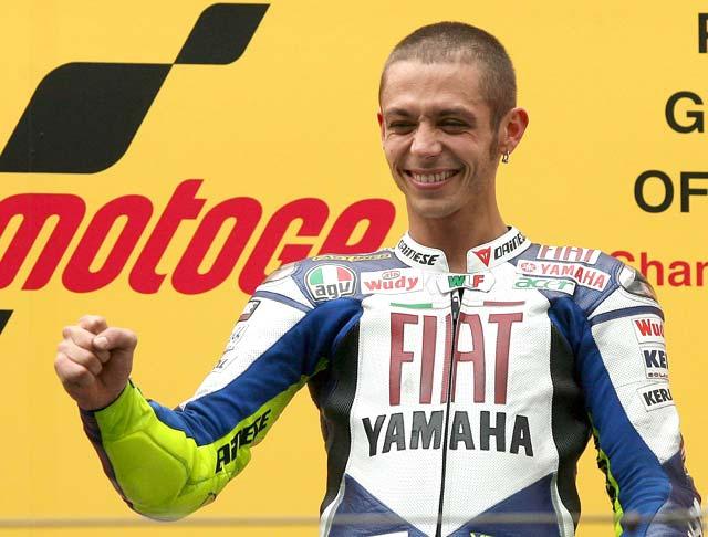 Valentino Rossi se reencuentra con la victoria en el Gran Premio de China