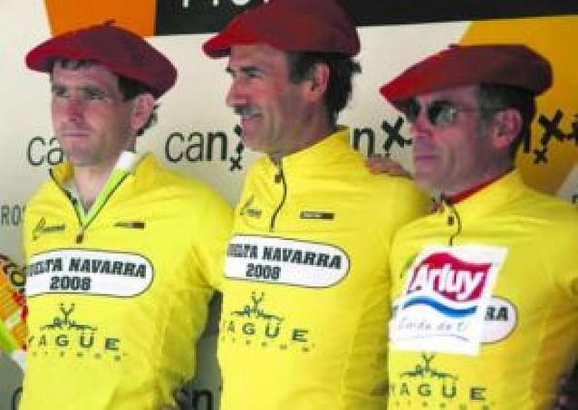 Arakistain, líder de principio a fin en la Vuelta a Navarra