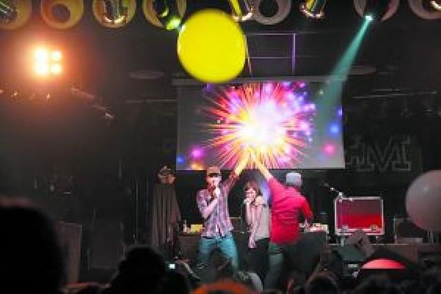 Risueño poderío de pop y hip hop
