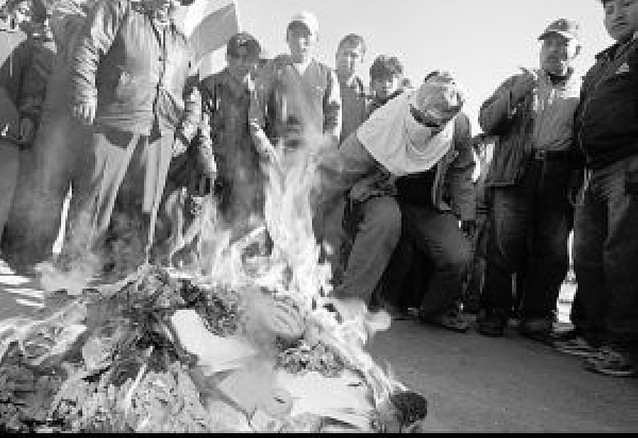 Enfrentamientos en el referéndum de la región boliviana de Santa Cruz
