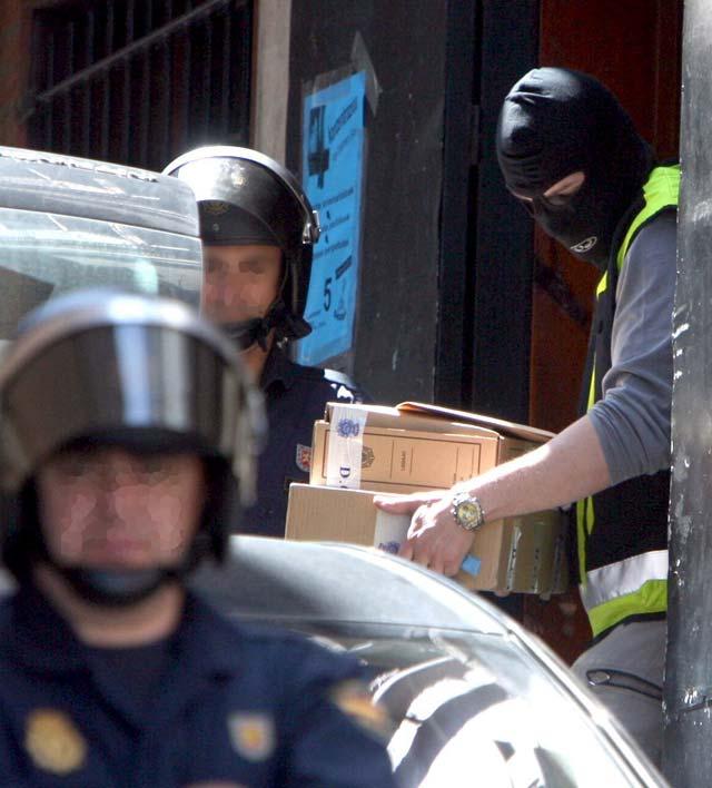 Garzón ordena el registro y la clausura de la sede de ANV en Portugalete (Vizcaya)