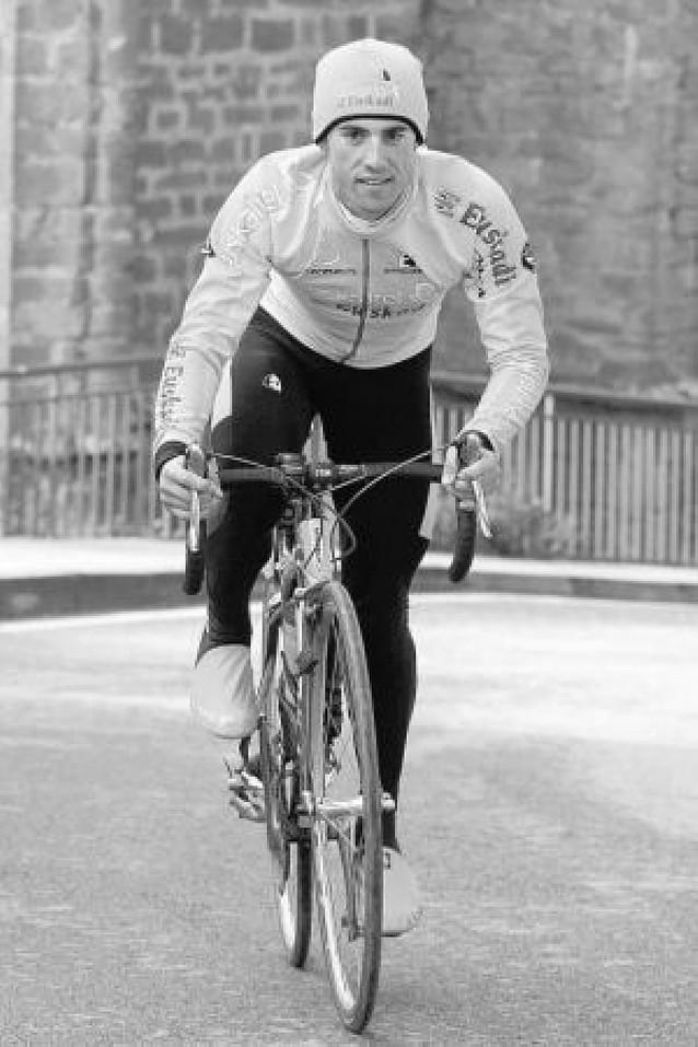 Alan Pérez, el único navarro del Giro