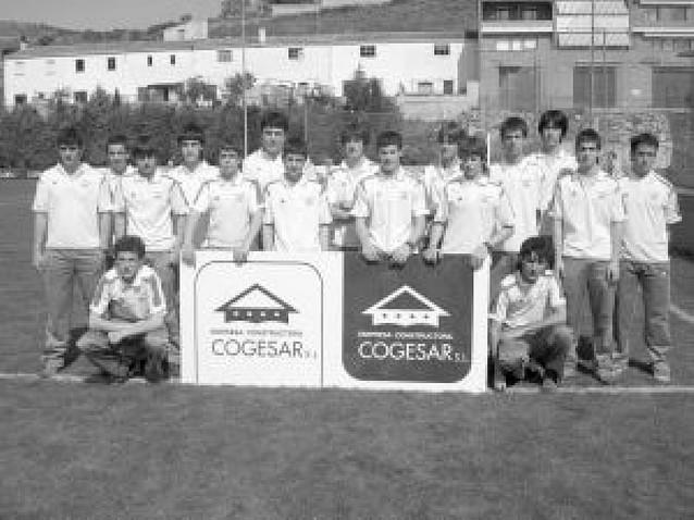 Los cadetes del Zarramonza, campeones