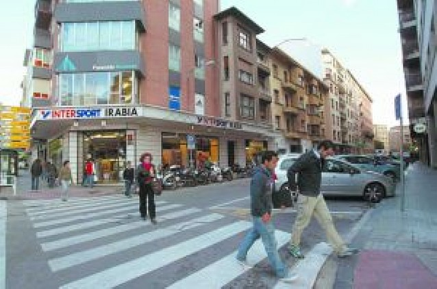 La reurbanización de la calle Tudela