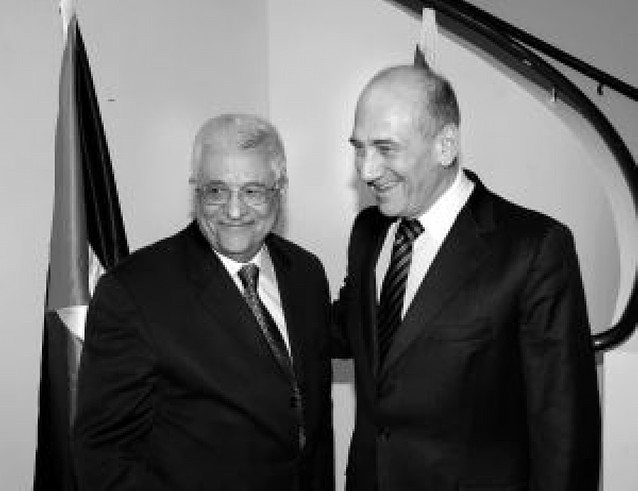 Olmert y Abas renuevan su compromiso de lograr la paz