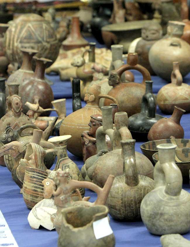 Recuperadas más de 700 piezas arqueológicas precolombinas en La Rioja