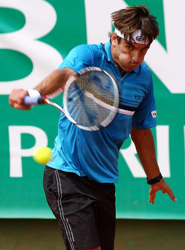 Ferrero y Robredo inician con triunfos su andadura en el Masters Series de Roma