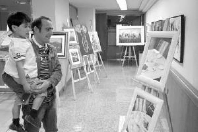 Muestra del curso de pintura de Cintruénigo