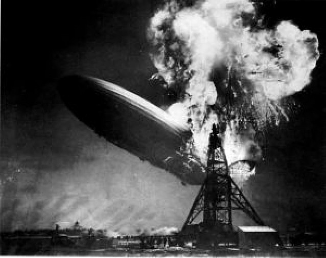 """""""Hindenburg"""", punto final de los dirigibles"""