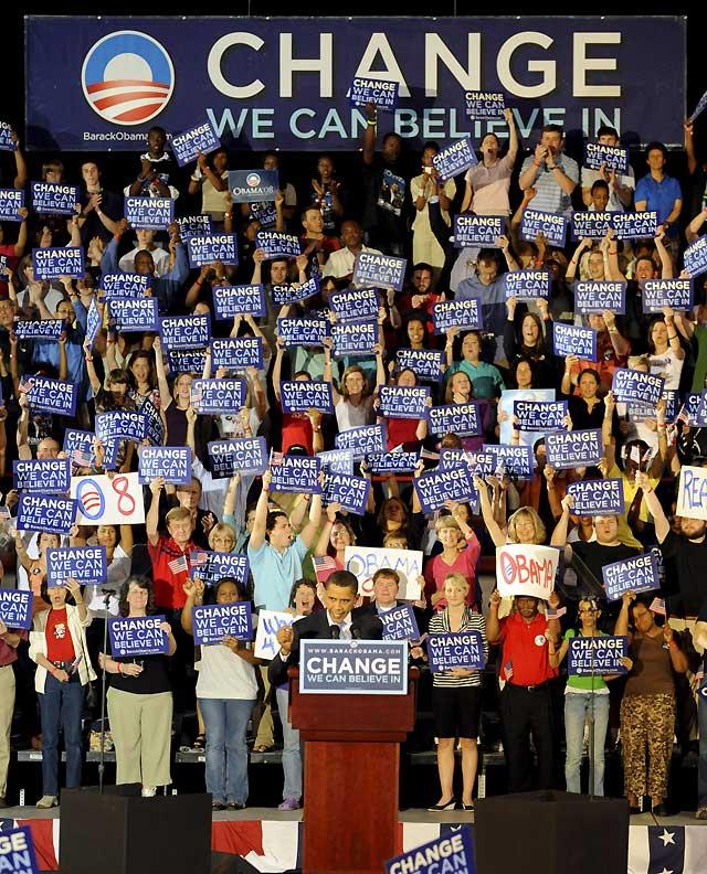 Obama arrasa en las primarias demócratas de Carolina del Norte