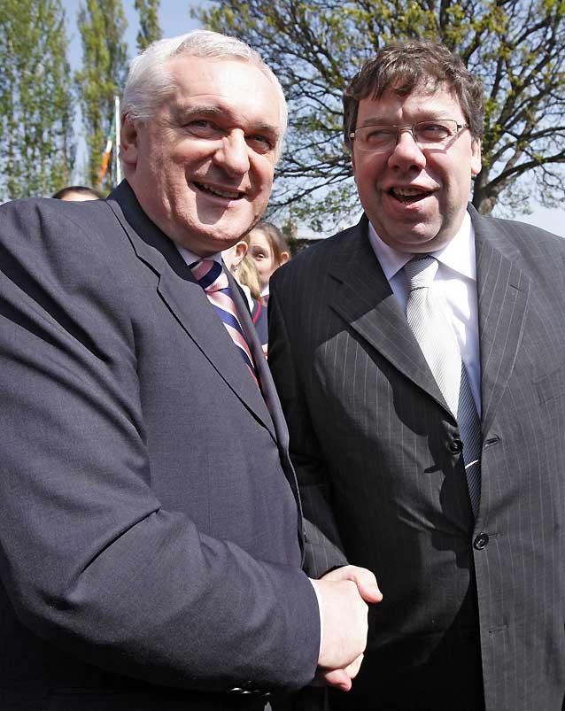 El Parlamento irlandés elige a Brian Cowen como nuevo primer ministro