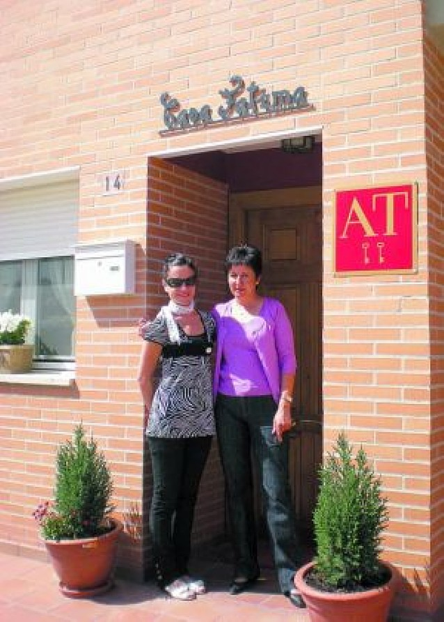 Una vecina de Peralta abre el primer alojamiento turístico de carácter rural en la localidad
