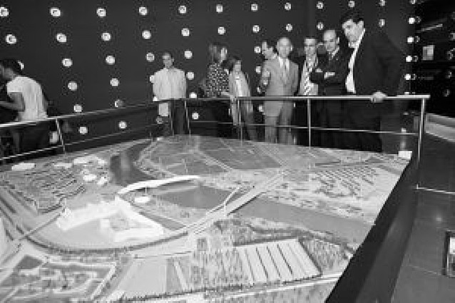 El pabellón navarro en la Expo cumple plazos y estará listo para la apertura