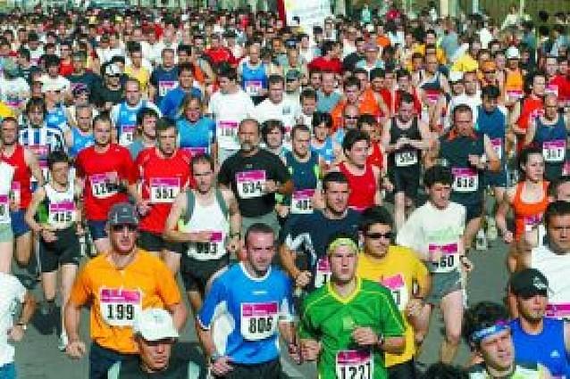 Mil atletas tomarán la calle este domingo