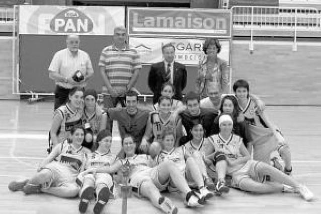 El equipo senior del C.B. Oncineda sube a Segunda División Nacional