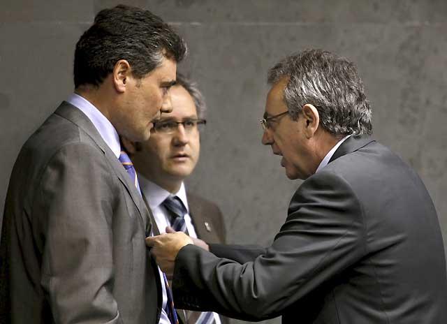 Sanz se reunirá con Zapatero tras la entrevista de Ibarretxe con el presidente del Gobierno