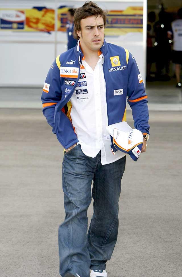 """Alonso: """"No hay inquietudes sobre el motor, pero tampoco tiene explicación"""""""