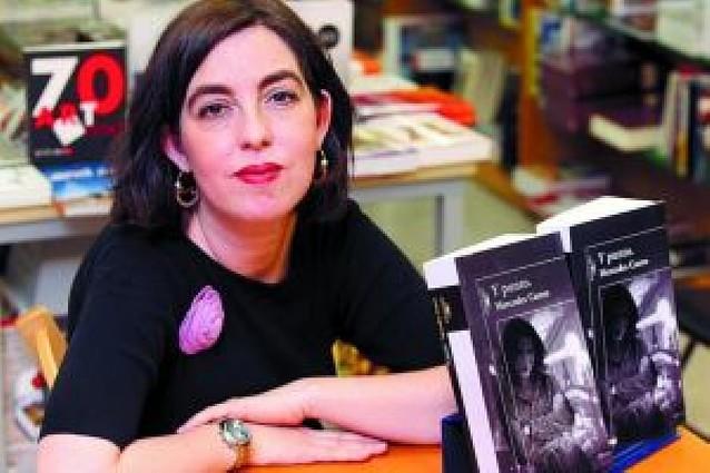 "Mercedes Castro rompe tópicos de la novela negra en ""Y punto"""