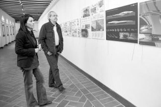 Tudela acoge una exposición de proyectos de la Expo