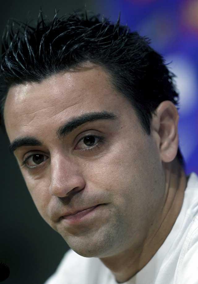 """Xavi asume que los jugadores han sido """"muy culpables"""" de la marcha de Rijkaard"""
