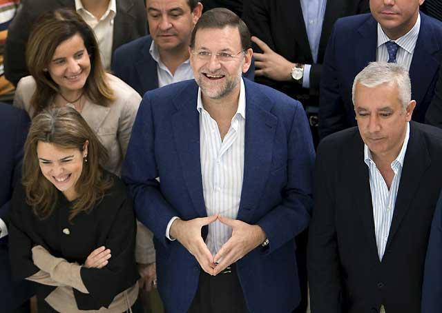 """Rajoy dice tener """"ganas, ilusión y coraje"""" para ganar las elecciones de 2012"""