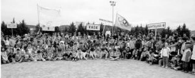 Caparroso acogió los XXXVII juegos escolares Valle del Aragón