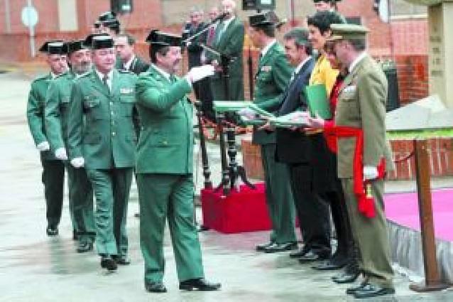 La Guardia Civil recupera la festividad del día de su fundación, hace 164 años